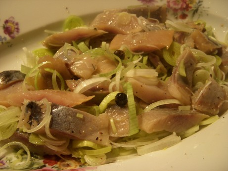 Aringhe marinate agli agrumi