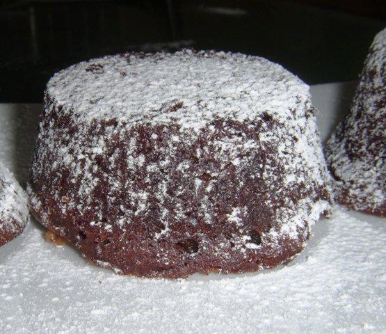 Tortini di cioccolato fondente dal cuore morbido