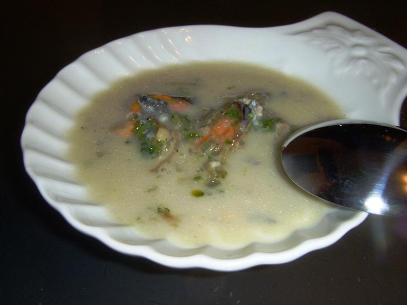 Cozze al Roquefort (Moules au Roquefort)