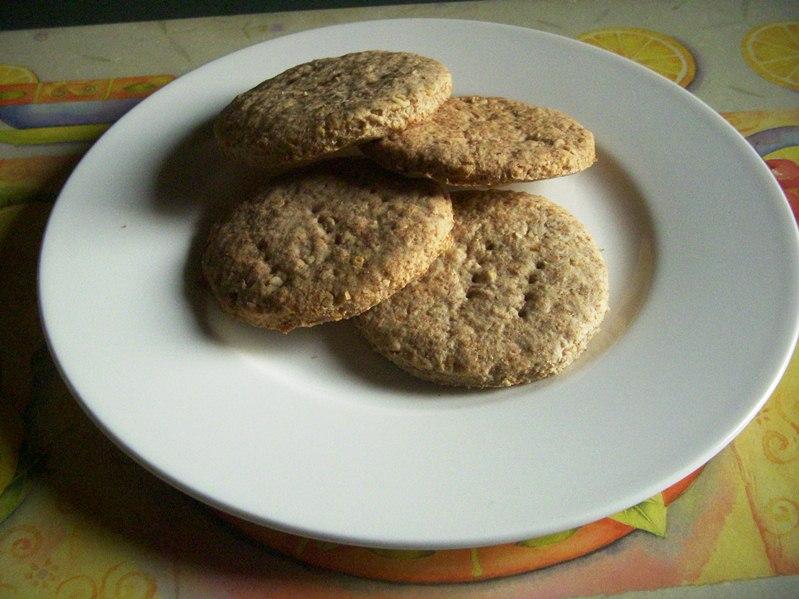 Biscotti digestive integrali