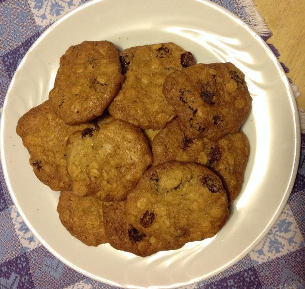 Biscotti speziati all'avena di Gretchen