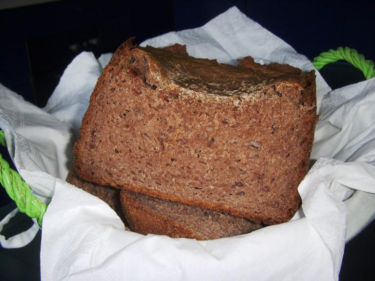 Pane alle castagne per macchina del pane