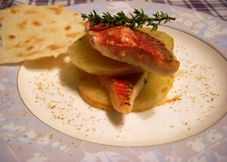 Torrette di triglie e patate