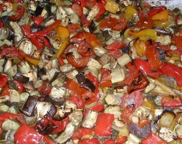 Teglia di verdure estive