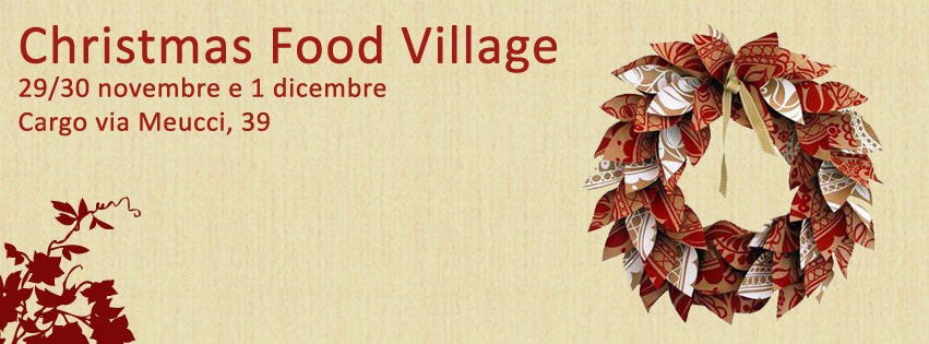 Christmas Food Village, da Cargo a Milano