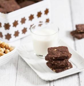 Biscotti cacao e nocciole di Monica, Blog Un Biscotto al Giorno