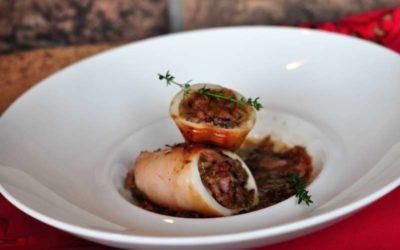 Calamaro ripieno di carciofi e un menù per il Cenone di Capodanno