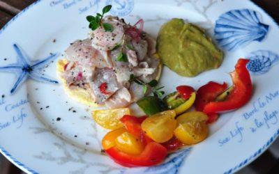 Il nuovo menu del Ristorante Panama di Alassio ed una ricetta dello Chef: ceviche di ricciola