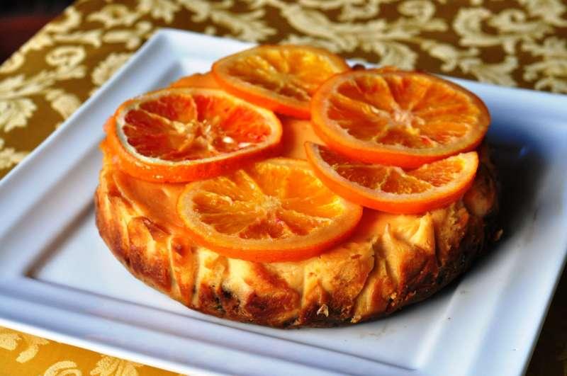 Cheesecake all'Arancia Rossa di Sicilia