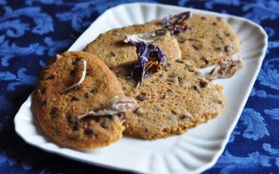 Chocolate chip cookies da una ricetta di Martha Stewart