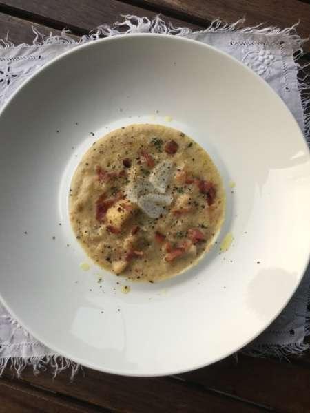 Chowder di baccalà