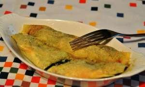 Crêpes gratinate ricotta e spinaci