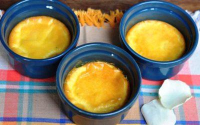 Crème brûlee al Parmigiano Reggiano