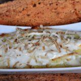 Crêpes con ricotta e spinaci gratinate con ricotta affumicata