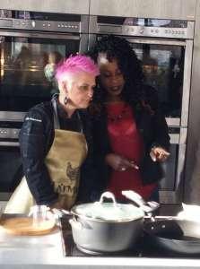 Le chef Cristina Bowerman e Victoire Gouloubi si confrontano