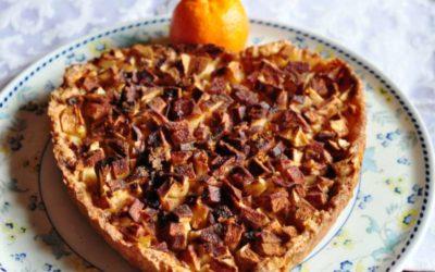 Una crostata di mele… quasi detox per San Valentino!