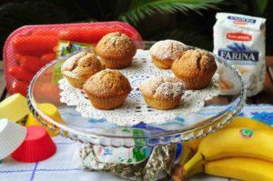 La merenda per il rientro a scuola: una carica di energia con i nostri muffin