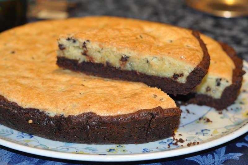 Crostata al cacao con crema frangipane