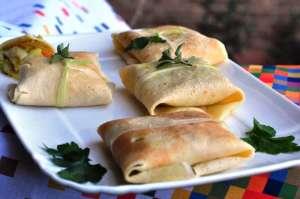 Fagottini di stoccafisso e verdure invernali al curry