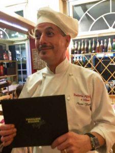 Lo chef Nicola Ferrelli