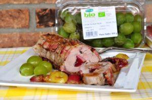 Filetto di maiale all'uva