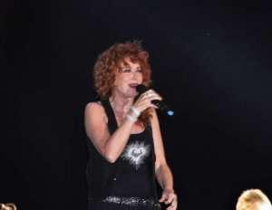 Fiorella Mannoia, live in Villa Arconati Bollate 30 giugno 2015