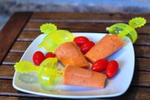 Ghiaccioli di gazpacho andaluso