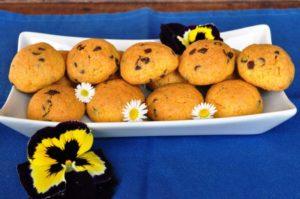 Gialletti con cioccolato e arancia - biscotti per l'autismo