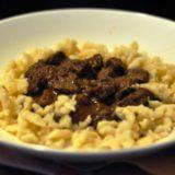 Gulasch di vitello con gnocchetti di farina