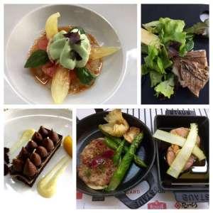 I piatti del menu di Michel Roth al Cafè  des Chefs