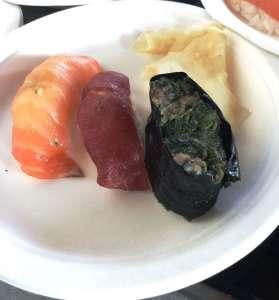 Il sushi del maestro Tozai Tatsumoto