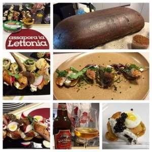 I piatti del menu e lo straordinario pane di segale!