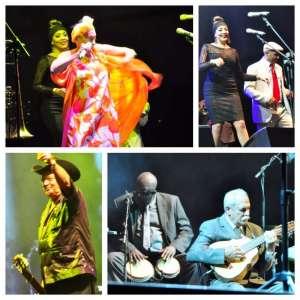 Momenti del concerto del'Orquesta Buena Vista Social Club