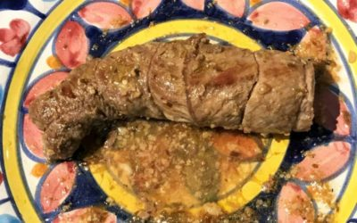 Involtini con Bacon danese e Pecorino Romano DOP