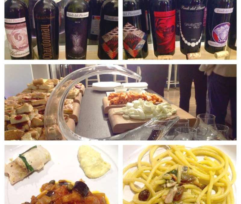 Una serata siciliana nel loft di Lorenzo Vinci