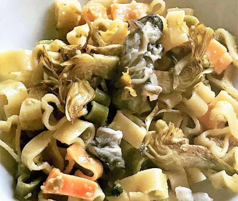 Love Pasta: Cuoricini in crema di ostriche di Bretagna con carciofi fritti, una ricetta per San Valentino