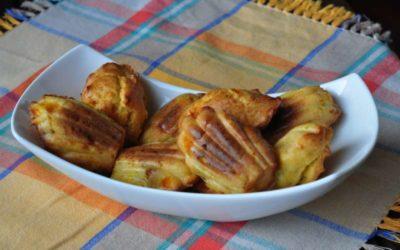 Le madeleines? Le prepariamo salate!