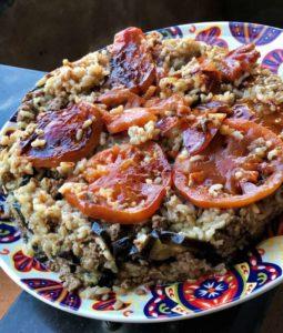 Maklouba, piatto palestinese delle feste