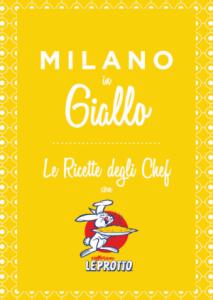 Milano in giallo – Zafferano Leprotto colora Milano per una settimana