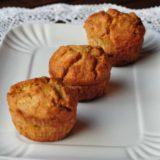 Muffin con zucca, Casera Valtellina DOP e noci Pecan