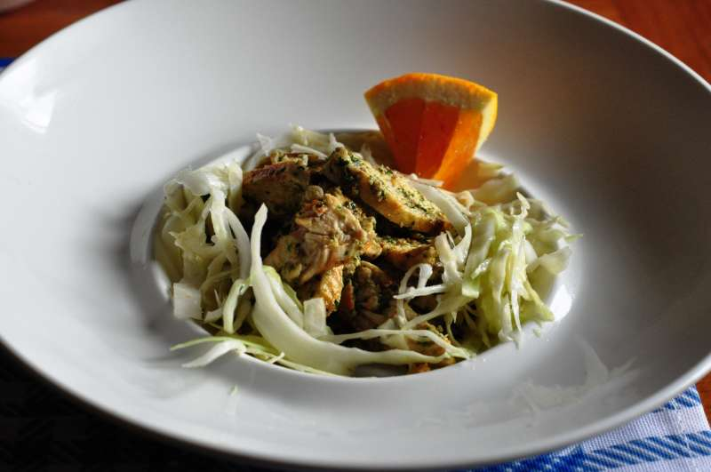 Petto di pollo marinato all'arancia – #dietacongusto
