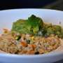 Pilaf di Rosa Marchetti con curry di broccolo romanesco
