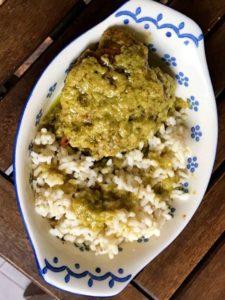 Pollo in salsa piripiri