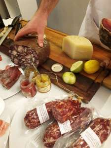 Salumi e formaggi Anica Macelleria Nutini