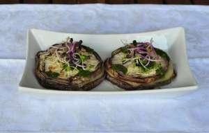 Sandwich di melanzane grigliate e Provolone Valpadana DOP