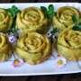 Sformatini con piselli, pancetta e Pecorino Sardo DOP