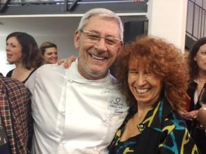 """Tano Simonato e Susanna Amerigo creatrice di """"Non so cucinare, ma..."""""""