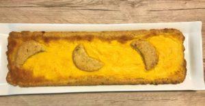 Crostata alla lavanda con crema pasticcera all'arancello