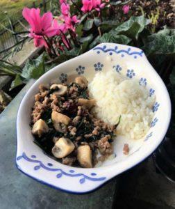 Pad Ka Prao Moo, un piatto Thai