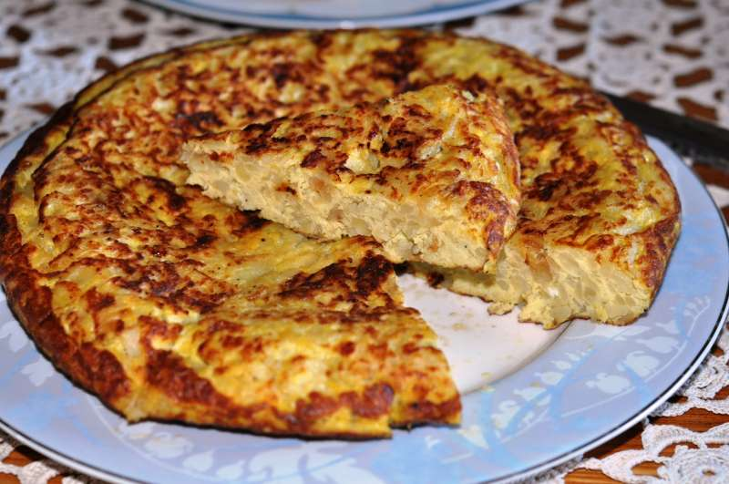 Tortilla de patatas – frittata di patate